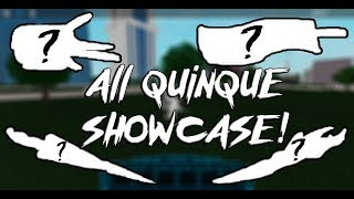 [New Quinques] EVERY SINGLE QUINQUE! | Roblox | Ro-Ghoul