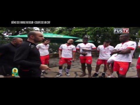 Le décrassage des fussistes à Kampala