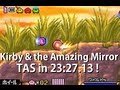 GBA Kirby & The Amazing Mirror in 23:27.