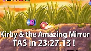 GBA Kirby & The Amazing Mirror in 23:27.12 (TAS)