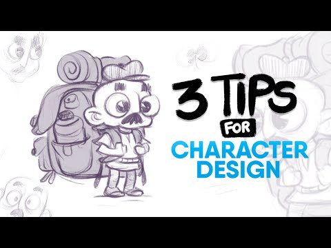 3 PRACTICAL Tips for Character Designing