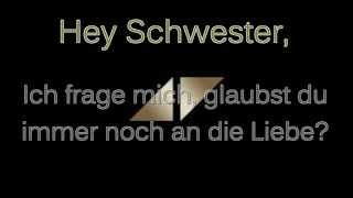 Avicii - Hey Brother - Lyrics/Deutsche Übersetzung + Full Song