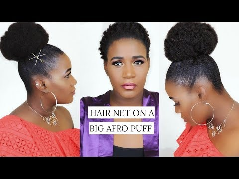 NATURAL LOOKING AFRO PUFF USING CLIP INS ON SHORT THIN NATURAL HAIR |BETTERLENGTH