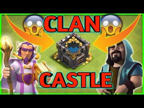 Clan Castle Glitch  Clash Of Clans