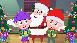 Babbo Natale giù per il camino | Canzoni di Natale | Schoolies Videos | Santa Claus Down the Chimney