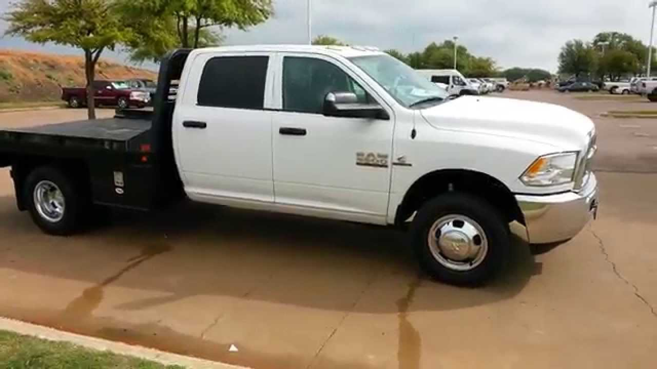 tdy sales 2015 ram 3500 4x4 flatbed cummins diesel aisin transmission 4500 5500 in stock youtube. Black Bedroom Furniture Sets. Home Design Ideas