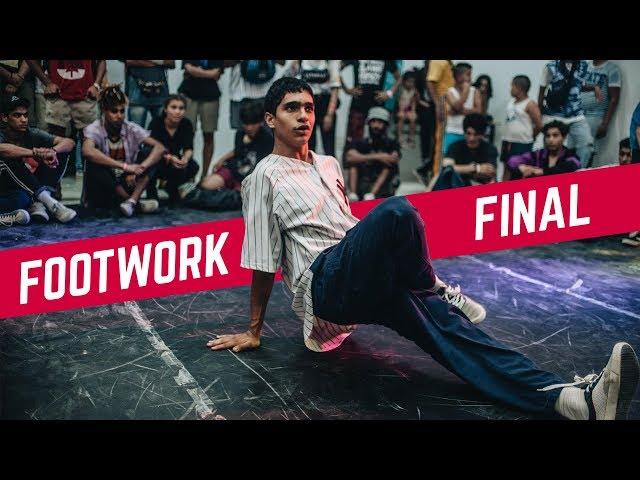 DIDOU vs SHIVA ♣ Footwork Final | Breakreate X Urban Whyz Festival