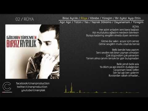 Rüya - Gökhan Türkmen (Official Lyric Video)