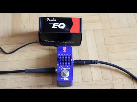 Fender MicroEQ micro equalizer