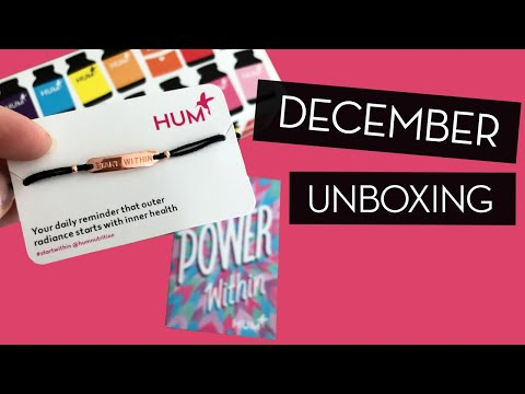 December Unboxing + GIVEAWAY!}