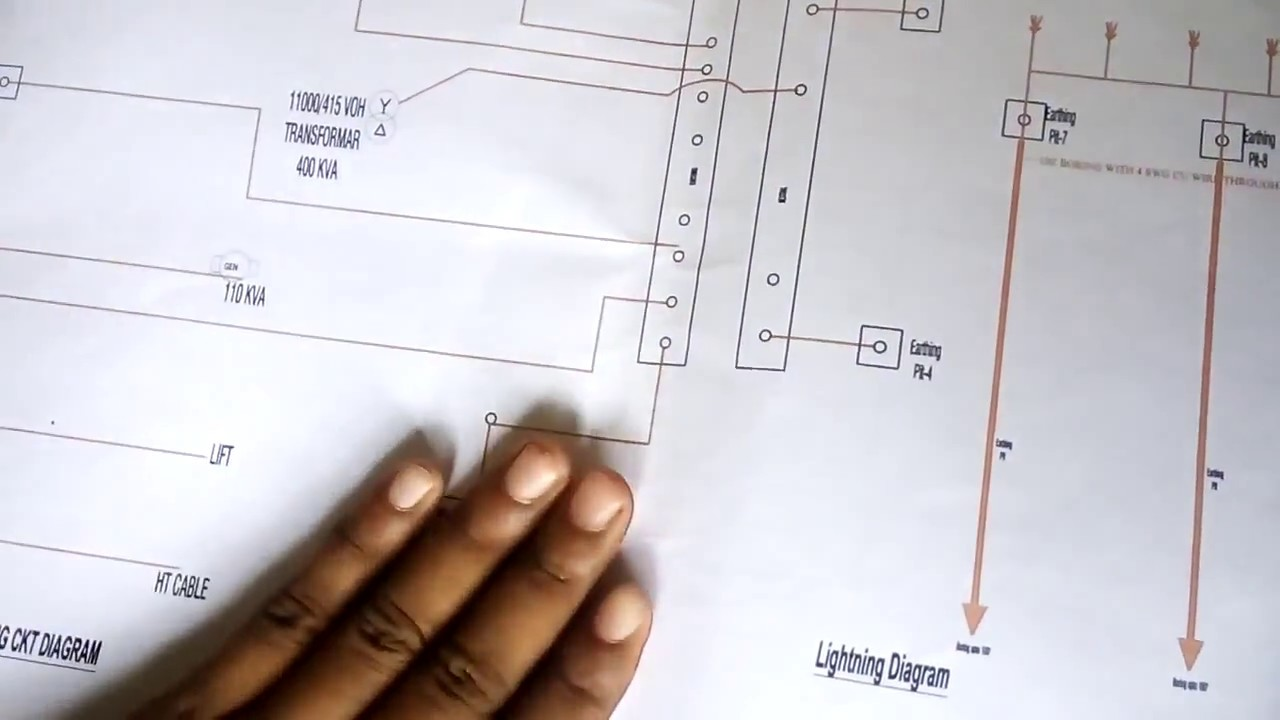 How Electrical Wiring Of Apartment Building 1 To 9 Floor Diagram Installation Part 5