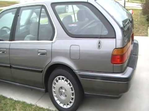 Accord Wagon 1991 For Sale Video 001d Youtube
