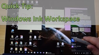 Surface Quick Tip: Making the Most of Windows Ink Workspace and the Pen Button