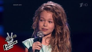 "Angelina Deryabin. ""Part of Your World"" - Blind auditions - The Voice Kids Russia - Season 7"