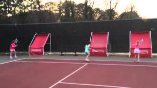 5 beginners hitting on THE GREAT BASE BACKBOARD