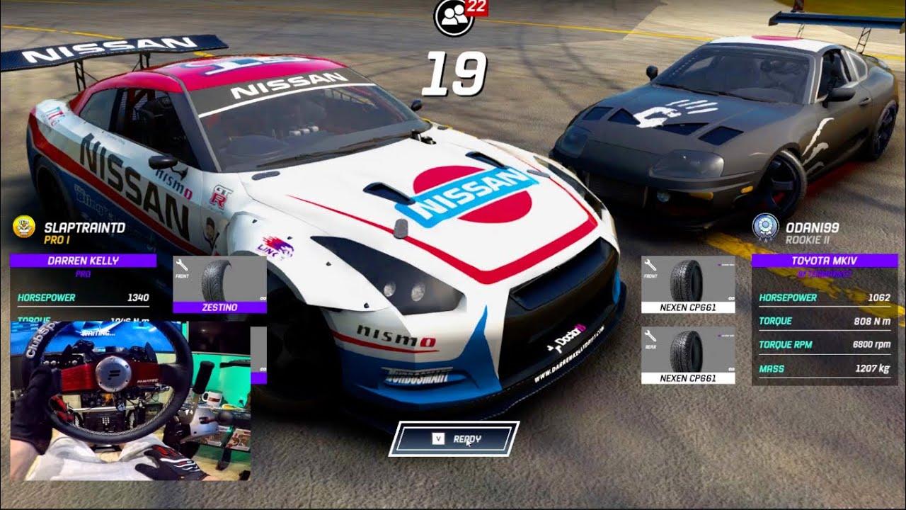 Torque Drift PC - Everyones Favourite Formula Drift Game Is BACK!! WHEEL UPDATE!?