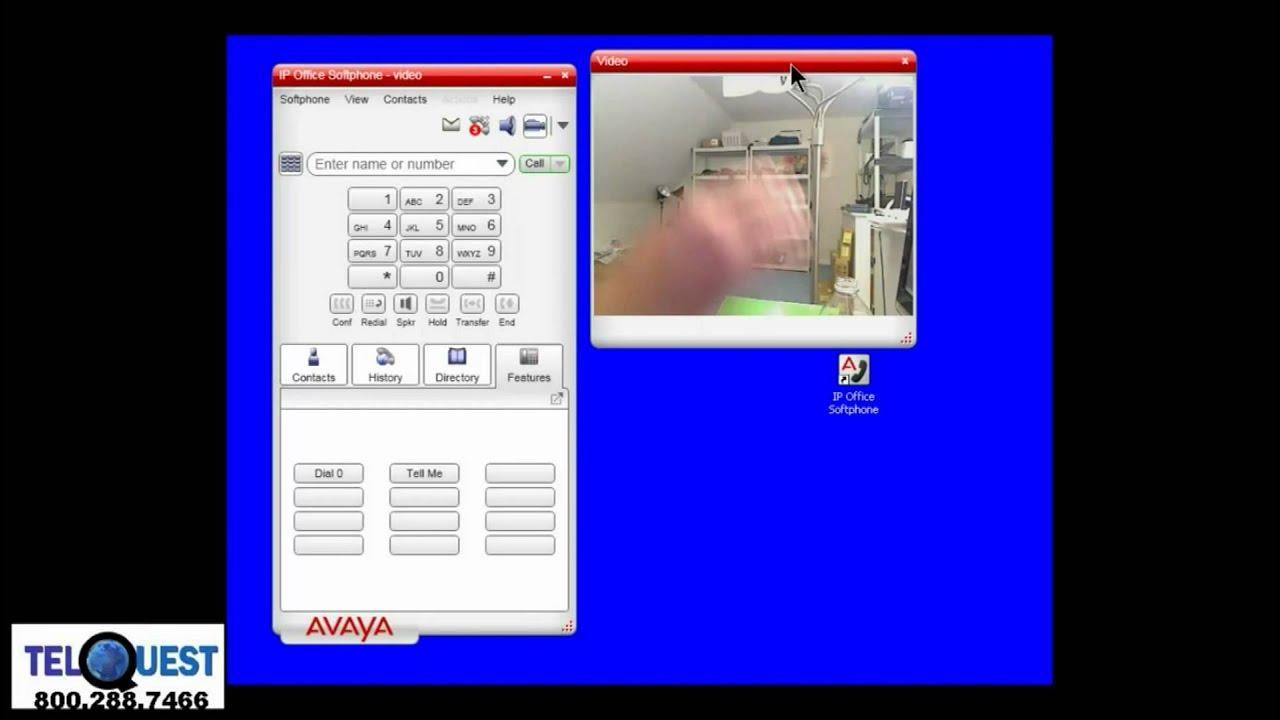 avaya ip office essential softphone