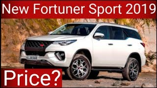 New Fortuner Sportivo 2019 Detail Review