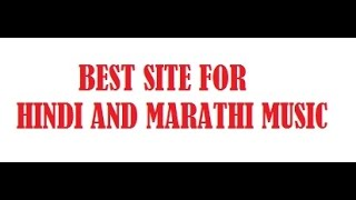 Best hindi and Martahi Mp3  Songs sites