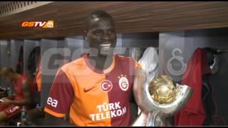 Süper Kupa 2013 | Soyunma Odası ve Uçaktan Özel Görüntüler - Galatasaray