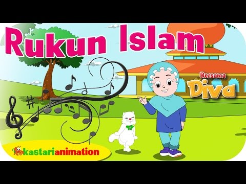 RUKUN ISLAM  - Lagu Anak Indonesia - HD | Kastari Animation Official