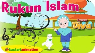 Video RUKUN ISLAM  - Lagu Anak Indonesia - HD | Kastari Animation Official download MP3, 3GP, MP4, WEBM, AVI, FLV Mei 2018