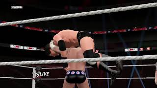 WWE 2K18 This day in history CM Punk vs William Regal