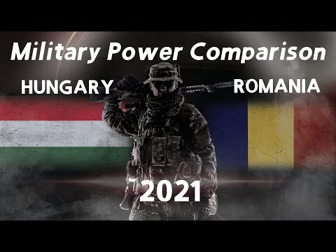 Hungary Vs Romania Military Power Comparison 2021 GFP [Military Power Ranking]