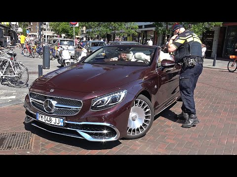 Sportcars in Rotterdam - POLICE, Maybach S650, GTI TCR, A35 AMG, F12, GT63 4-Door & More!