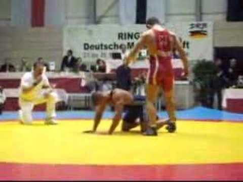 Jan Fischer  KSV Köllerbach  - vs.Eugen Ponomartschuk