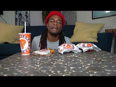 POPEYES SPICY CHICKEN MUKBANG | UNcircumcision Talk