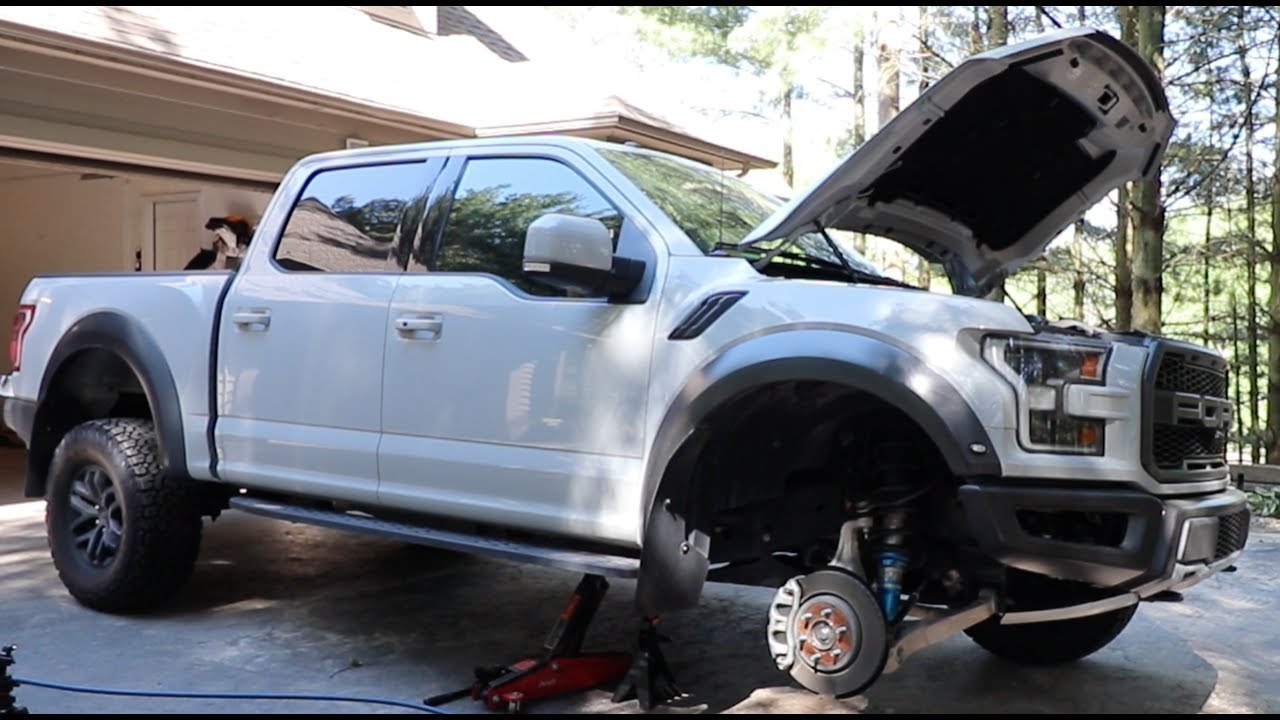 2017 Ford Raptor First Upgrade Rpg Spring Collar Leveling