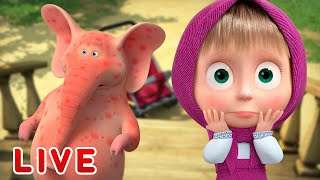 LIVE STREAM 🎬 Masha and the Bear 🤣 Best stories 👯 Маша и Медведь прямой эфир