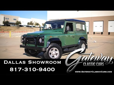 1993 Land Rover Defender For Sale Gateway Classic Cars #1133