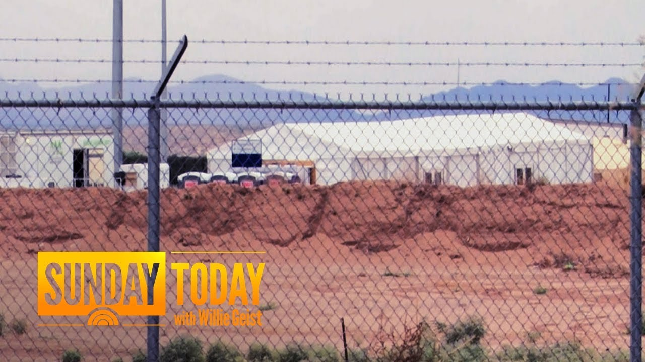 Texas Builds Tent City To House Children Amid Outrage Over Immigration Policy | Sunday TODAY