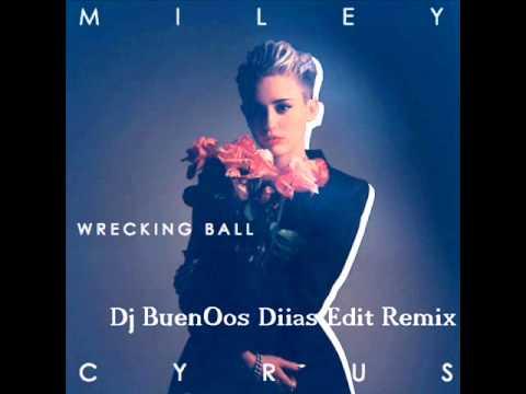 Afrojack Vs Ahzee Feat Miley Cyrus - Wrecking Ball (Dj BuenOos Bootleg Edit Remix)