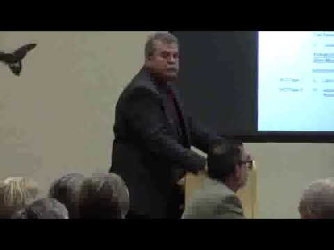 Thanks speakers, water for nature & water for economy --Hugh Thomas, E.D., SRWMD 2019-12-10