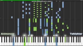 Repeat youtube video Jiyuu no Tsubasa - Shingeki no Kyojin OP2 - Special Synthesia - [TehIshter & Animenzzz] (Piano Duet)