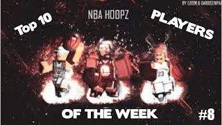 Roblox Nba Hoops Top 10 Players Of The Week #8