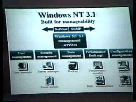 HAL-PC 1993 OS/2 vs NT Shootout Part 1