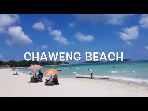 A Little Look Around Chaweng Beach Koh Samui Thailand Youtube