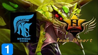 Newbee.Young vs Team Braveheart Game 1 SL i-League Invitational Season 3 Highlights Dota 2