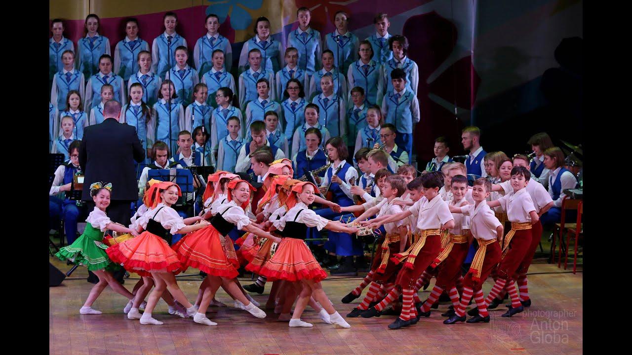"Итальянский танец «ТАРАНТЕЛЛА», Ансамбль Локтева. Italian dance ""TARANTELLA"", Loktev's Ensemble. 4K"