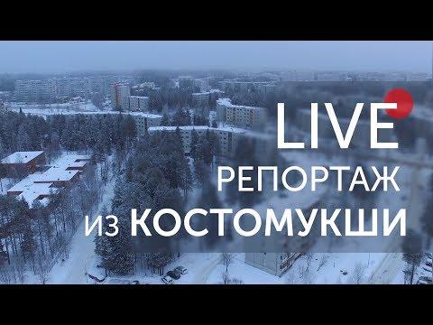 Живой репортаж из Костомукши