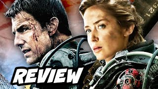 Edge Of Tomorrow Review 2014. Tom Cruise, Emily Blunt and Bill Paxt...