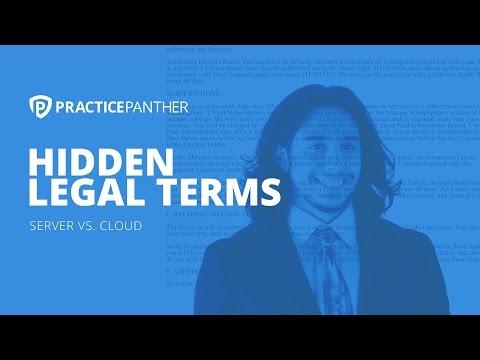 Server vs Cloud: Hidden Legal Terms