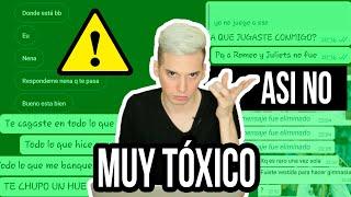 COMO ESTABAS VESTIDA? CONVERSACIONES TOXICAS - Pablo Agustín