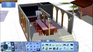 The Sims 3   Building An Open Dive Bar