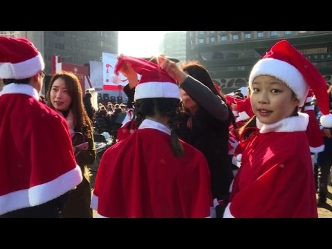 ho ho ho salvation army launches charity campaign in s korea youtube. Black Bedroom Furniture Sets. Home Design Ideas
