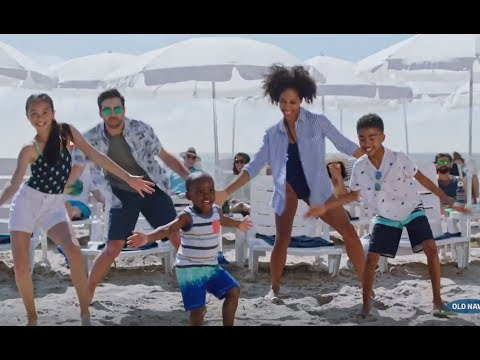 old navy commercial 2017 miles brown flip flop - Old Navy Christmas Commercial
